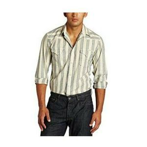 Lucky Brand Snap-front Redford Western Shirt